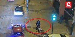 Sokak Ortasında Kadına Şiddet Uygulayan Adama Çevredeki İnsanlar Meydan Dayağı Attı!