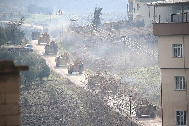 Afrin'de 5 kilometre ilerleme sağlandı