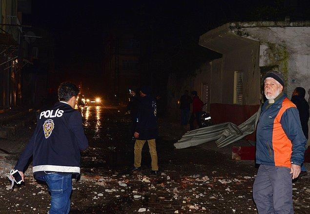 Kilis'e de roketli saldırı