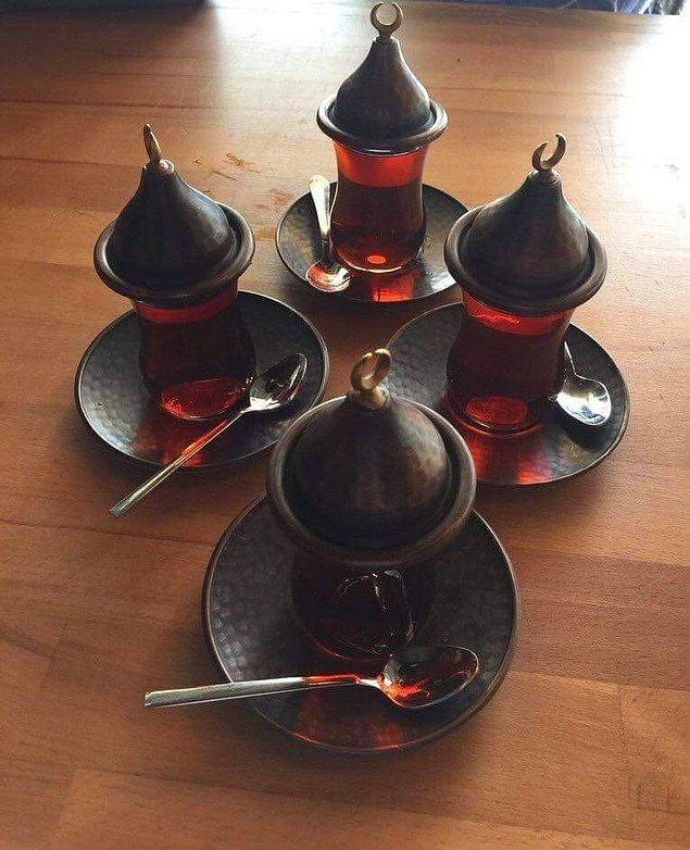 9. Çaylar da hazır