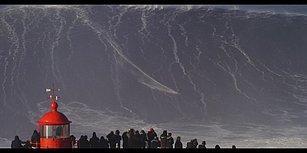 Devasa Dalganın İçinde Sörf Yapan Yürek Yemiş Adam: Sebastian Steudtner