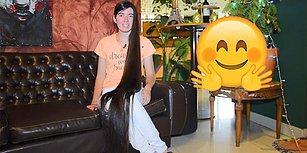 Masallar Gerçek Oldu! Upuzun Saçlarıyla Guinness Rekorlar Kitabı'na Giren 17 Yaşındaki Rapunzel