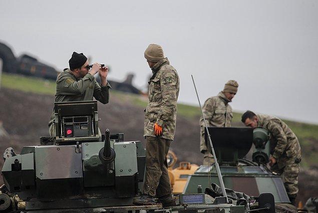 ABD Dışişleri Bakanı Tillerson'dan, Afrin'de 30 kilometrelik güvenli hat önerisi.