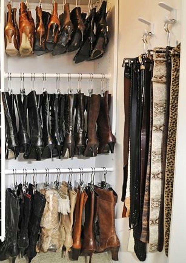 8. Kışlık ayakkabıları saklamak için bug bulundu