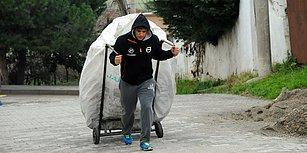 Hikâyesi BBC'ye Konu Olmuştu: Dünya Şampiyonu Kadir Dalkıran Geçimini Hâlâ Kağıt Toplayarak Sürdürüyor