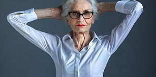 Dünyanın En Yaşlı Modeli Olan 89 Yaşındaki Daphne Self ile Tanışın!