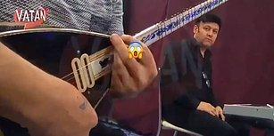 Çatlak Şanzel'in Programında Kameraya Hareket Çeken Müzisyen