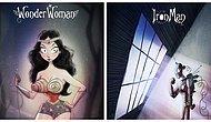 Hayranı Olduğumuz Süper Kahramanları Tim Burton Yaratmış Olsaydı Nasıl Görünürlerdi?