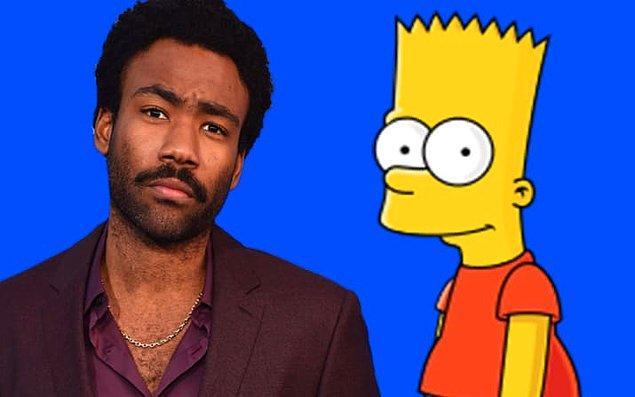 1. Donald Glover, lise yıllığında 'The Simpsons İçin Yazar Olma İhtimali En Yüksek Kişi' dalında en çok oyu almıştı.