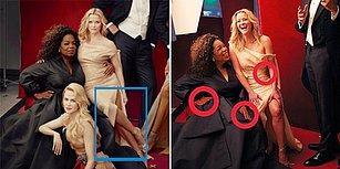 Gözlerden Kaçmayan Olay Hata! Vanity Fair Dergisinin Görenleri Şoka Uğratan Photoshop Hatası