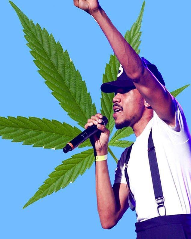 15. Chance the Rapper'ın piyasaya çıkış projesi '10 Day', esrar bulundurmaktan okuldan uzaklaştırıldığı sırada piyasaya sunuldu.
