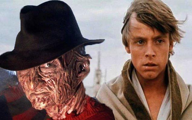 20. Mark Hamill, Luke Skywalker rolünü Freddy Krueger'ı oynayan arkadaşı Robert Englund onu role önerdiği için aldı.