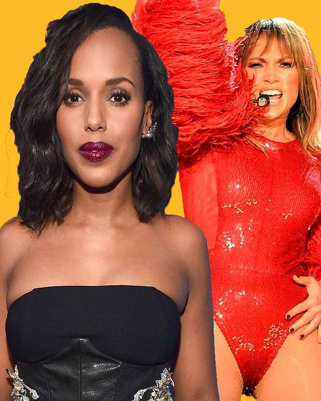 23. Ve son olarak, Kerry Washington dans etmeyi Jennifer Lopez'den öğrendi. Jennifer Lopez, Kerry'nin New York'taki dans okulunda yedek hoca olarak derslere giriyormuş.