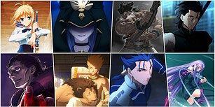 Japon Övme Saati Geldi, Toplaşın! Animelerin Kralı Fate Serisinde Yer Alan Tarihi ve Mitolojik Karakterler