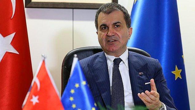 """AB Bakanı Ömer Çelik ise geçen hafta yaptığı açıklamada 3 milyar euroluk ilk ödemenin yalnızca 1,7 milyarının yapıldığını belirtmiş ve """"Suriyelilerin ihtiyaçlarını dikkate alınca bu ödemenin çok daha hızlı yapılması gerekir"""" demişti."""