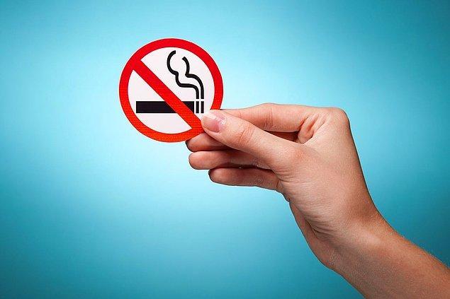 Açık havada sigara yasakları geliyor.