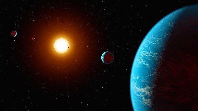 12. Kepler K2-138 Sistemi (Keşfedilen ilk çok gezegenli sistem)