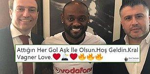 """""""Aşk Sadece Filmlerde Olur Derler!"""" Beşiktaş'ın Vagner Love Transferinin Ardından Yaşananlar ve Tepkiler"""