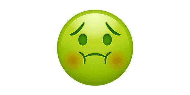 Hastalıktan bertaraf olmuş emoji!