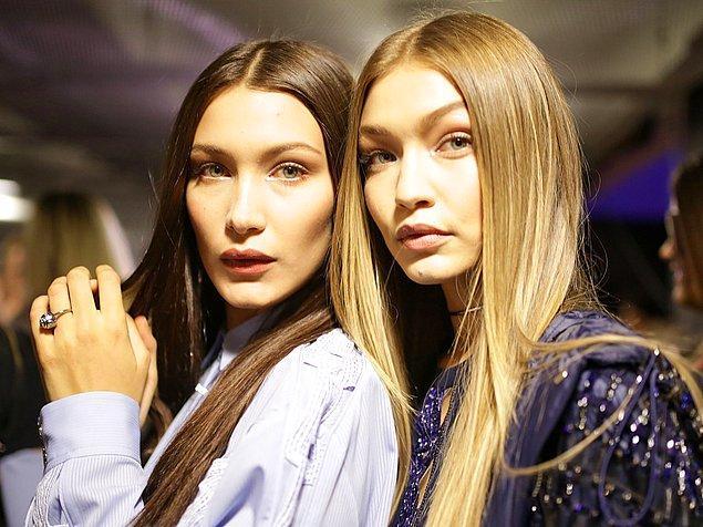 Henüz 20'lerinin başlarında olmalarına rağmen etkileyici modellik portfolyolarıyla herkesi kendilerine hayran bırakan kardeşler eski model Yolanda Foster'ın kızları.
