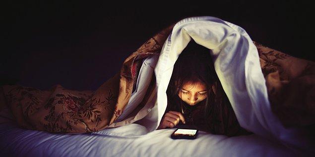 3. Yatmadan önce genelde ne yaparsın?