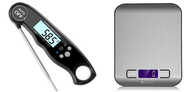 1. Kendinize bir tartı ve termometre alın.