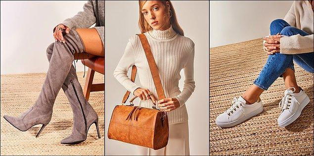 Gittiği her yere seni de götürsün: Ayakkabı veya çanta!