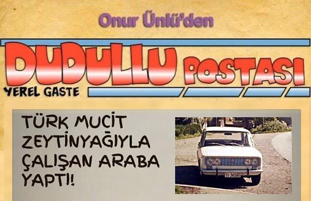 Türk Mucit Zeytinyağıyla Çalışan Araba Yaptı!