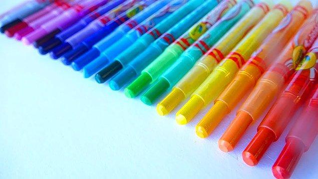 4. Bizim zamanımızda yoktu böyle güzel şeyler... Şükür ki şimdi var! Crayola Twistables muazzam bir deneyim yaşatıyor!