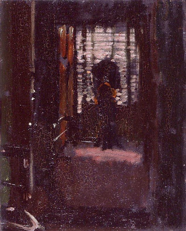 13. Altıncı şüpheli bir ressam ve Karındeşen Jack'e adeta hayran olan Walter Sickert idi.