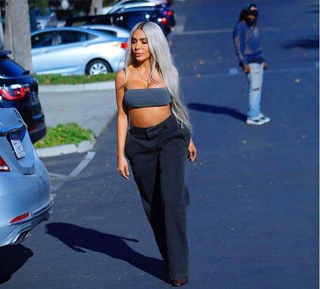 Kim klonu adlı proje Kanye West'in Yeezy markasının 6. sezonunun bir promosyon çalışması.