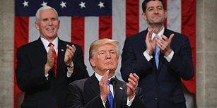 Nasıl Konuştum Ama? 6 Dakika Boyunca Kendini Alkışlayan Trump Dalga Konusu Oldu