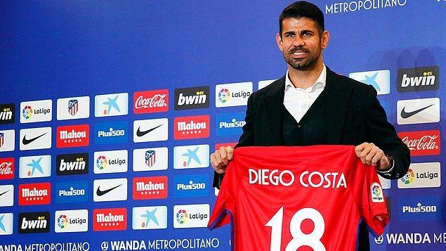 3. Diego Costa: 66 Milyon Euro (Chelsea ➡ Atletico Madrid)