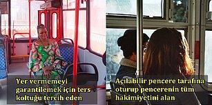 Her Şehirlinin Çilesi Şehiriçi Otobüslerin Koltuklarına Göre Kişilik Analizi