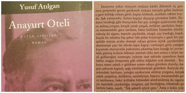 Yusuf Atılgan - Anayurt Oteli