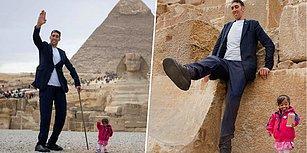 Dünyanın En Uzun Adamı Sultan Kösen'in Dünyanın En Kısa Kadınıyla Buluşması