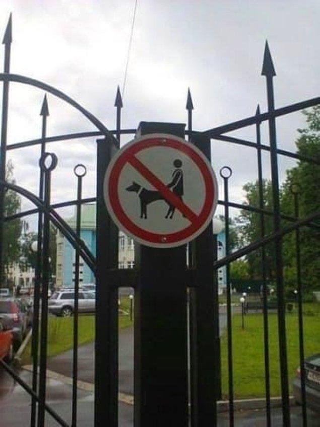 16. Bu levhayla artık parkın kuralları daha net!