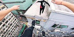 Hong Kong Çatılarında Muhteşem Parkur Performansı Gerçekleştiren Ekip