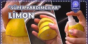 Süper Yardımcıların En Ekşisi Limonun Bilmediğiniz Kullanım Alanları