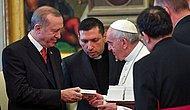 59 Yıl Sonra Bir İlk! Cumhurbaşkanı Erdoğan ile Papa Francesco Bir Araya Geldi
