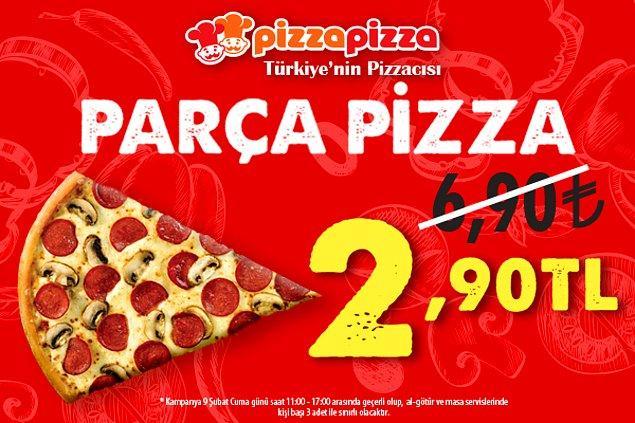 Pizza Pizza'dan, 9 Şubat Dünya Pizza Günü'ne özel, şiir yazdıran, parça pizzaya doyuran yarışma!