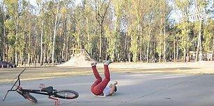 Bisiklet Üzerinde Hareket Yaparken 2 Kez Düşünülmesi Gerektiğini Zor Yoldan Öğrenen İnsanlar