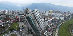 Bir Yıl Arayla, Aynı Günde ve Aynı Büyüklükte: 11 Fotoğraf ile Tayvan'da Deprem Faciası