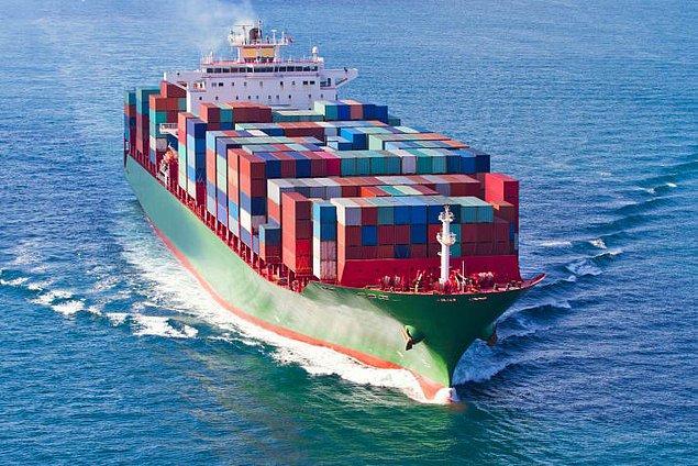 16. Her yıl denizlerde 10.000 kargo konteyneri kayboluyor.