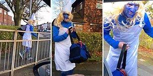 Kostüm Partisine Gideceğini Düşünerek Şirine Gibi Giyinen Adamın Maruz Kaldığı Efsane Şaka