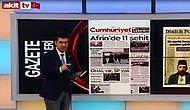 Akit TV Sunucusundan Cumhuriyet Gazetesine Tehdit: 'Sizin Gibileri Katletmek Mübahtır'