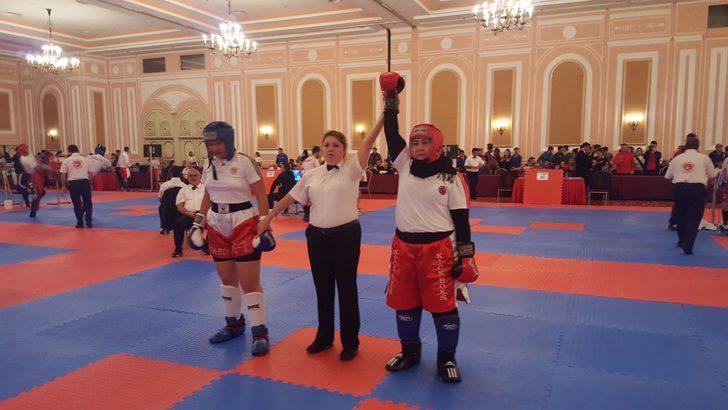 Dul Kadınsın Evde Otur Demişlerdi: Kick Boks Şampiyonu Gülsüm Özenin Sıradaki Hedefi Avrupa 55
