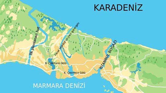 Kanal İstanbul güzergahı ve geçeceği yerler neresi olacak?