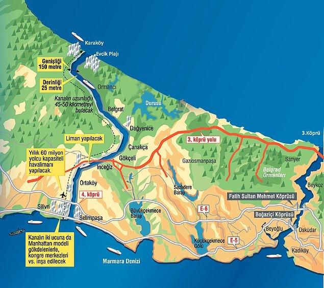Kanal İstanbul proje detayları ve geçmişi nedir?