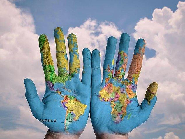 3. Dünyada bir şeyi değiştirme şansın olsa, bu ne olurdu?